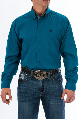Men's Blue Cinch Shirt