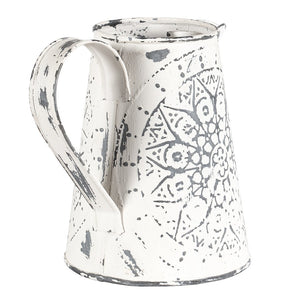 Hand-Pressed Marseilles Decorative Jug