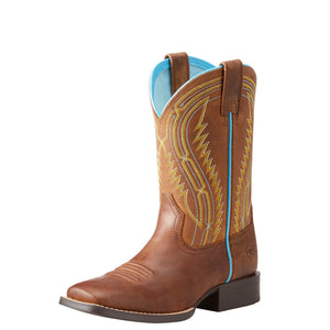 Ariat Chute Boss Kid's Western Boot Distressed Brown - Diamond K Country