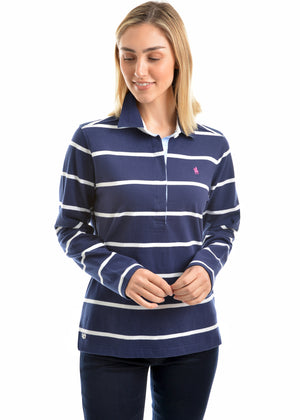 Women's Thomas Cook GIllian Stripe Rugby Jersey T9W2506025