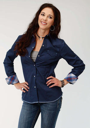 Women's West Made Navy Shirt