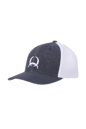 Men's Navy and White Cinch Trucker Cap