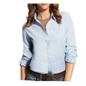 The Women's Ariat Kirby Stretch Western Floral Shirt