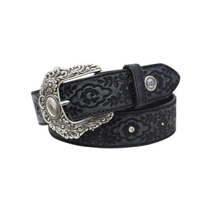 The Women's Wrangler Violet Belt in Black