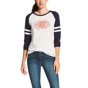 Women's Ariat Logo Graphic Tee Shirt