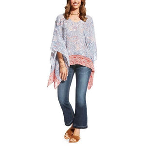 Women's Ariat Tarin Top Bella Blue