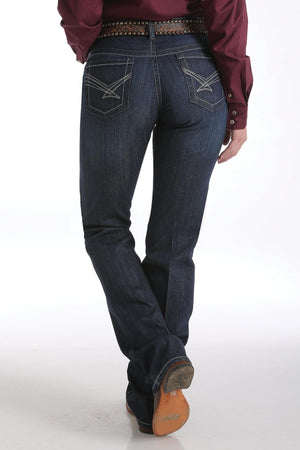 Women's Cinch Ada Relaxed Fit Dark Stonewash Jeans