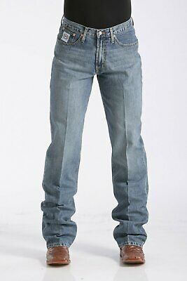 Men's Cinch White Label Jeans - Relaxed Fit - Medium Stonewash