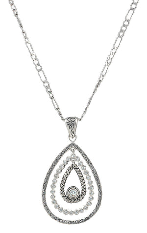 Montana Silversmiths - Hidden Treasure Raindrop Necklace