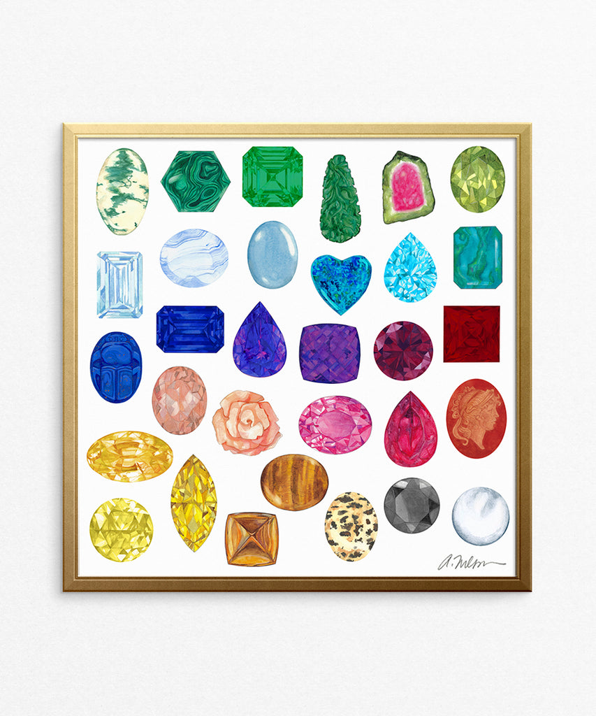 Gemstone Artwork