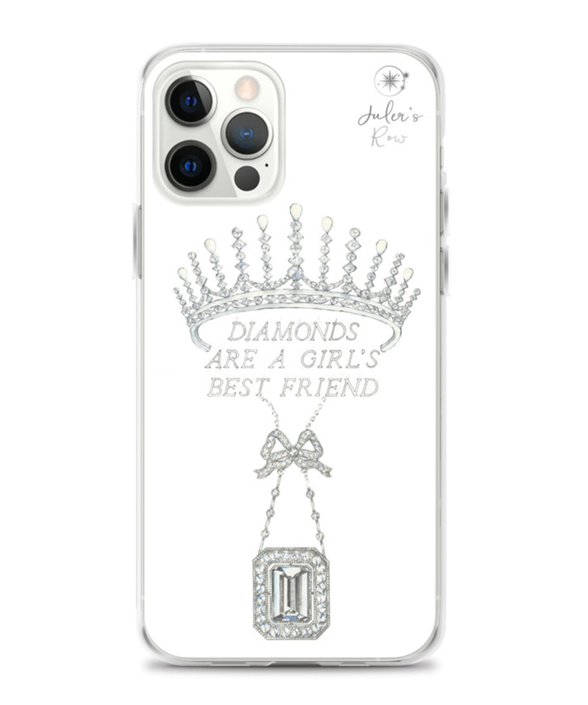 Diamonds are a Girl's Best Friend Phone Case