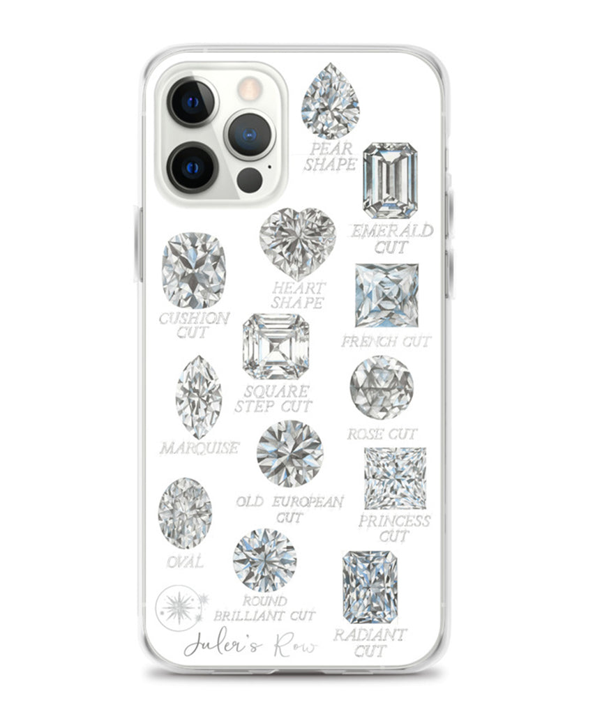 Diamond Shapes with Names Phone Case