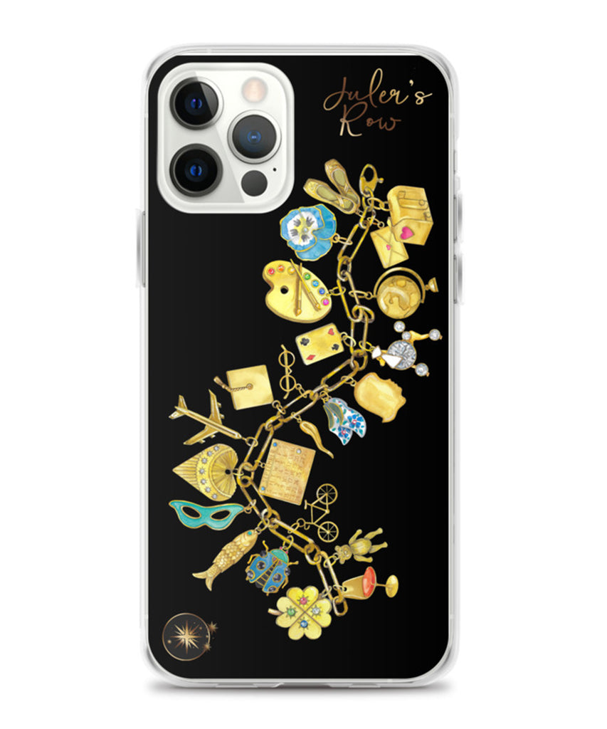 Gold Charm Bracelet Phone Case