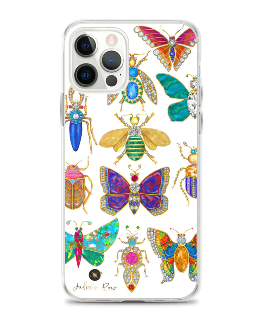 Butterfly & Bug Brooch Phone Case