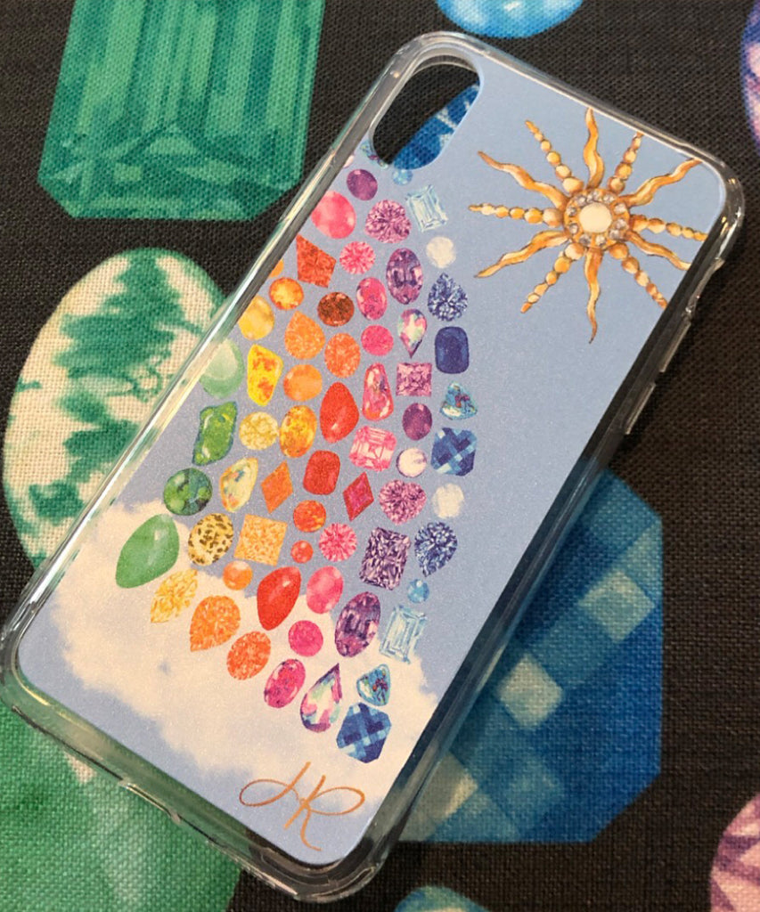 Rainbow Gemstone Series II Phone Case