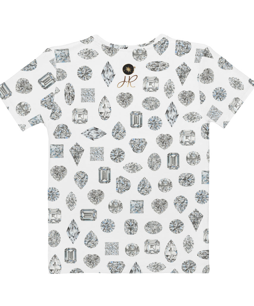 All Over Print Diamond Shapes Tee