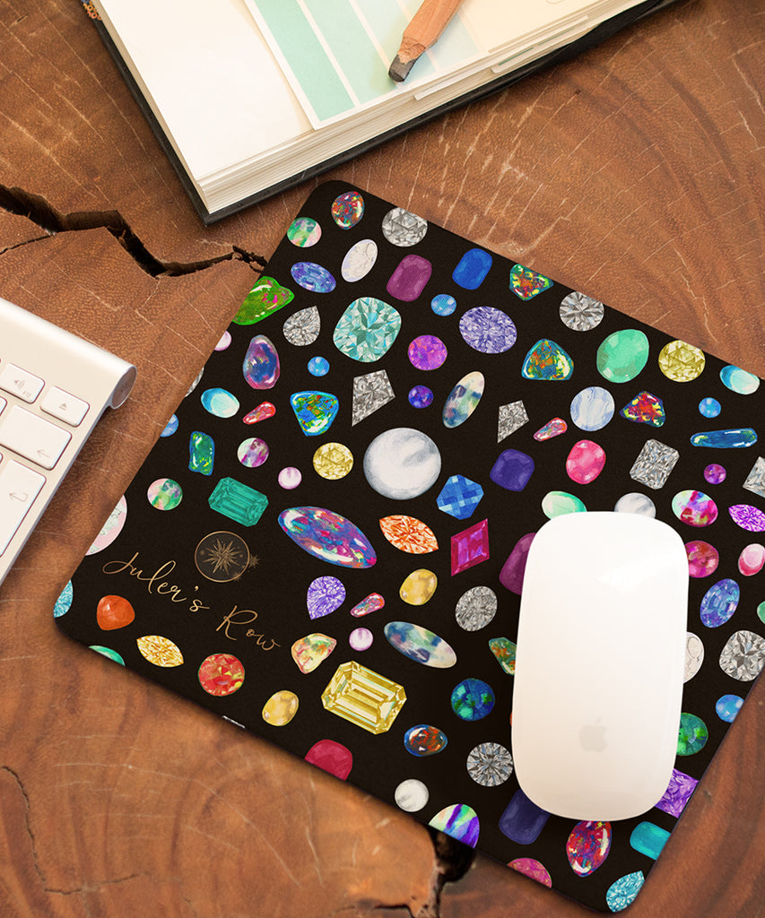 Diamond & Gemstone Mouse Pad