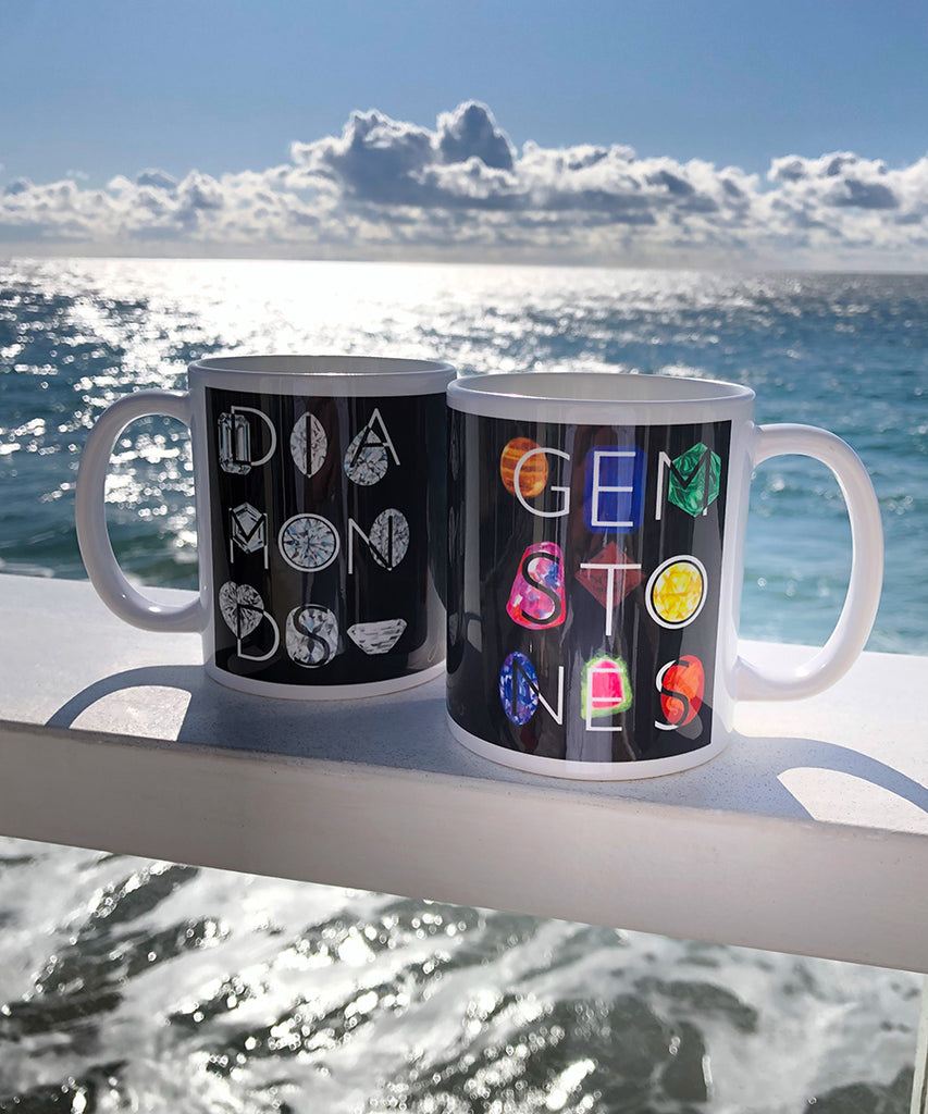 Gemstone Coffee Mug