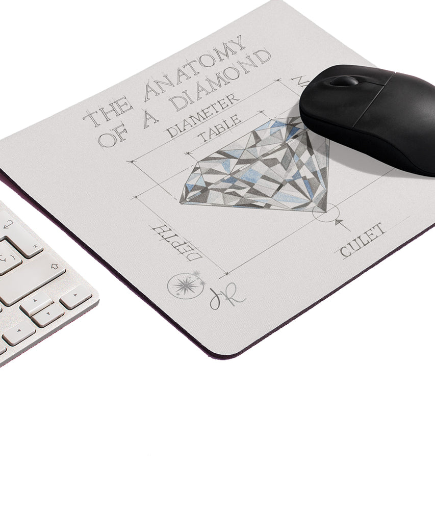 Anatomy of A Diamond Mouse Pad