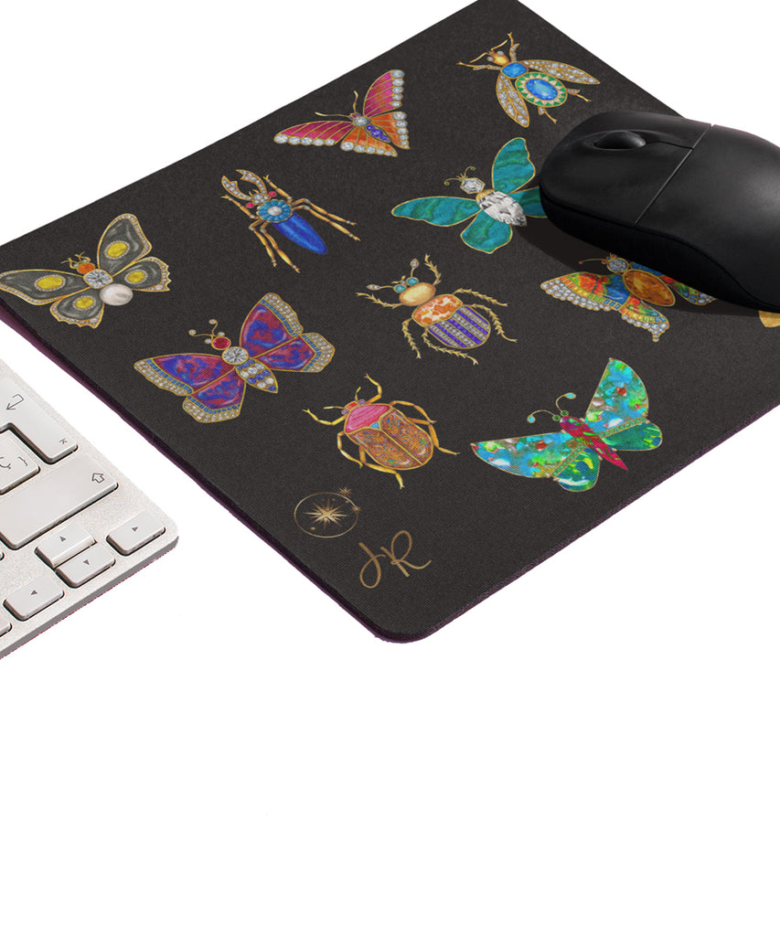 Butterfly & Bug Mouse Pad