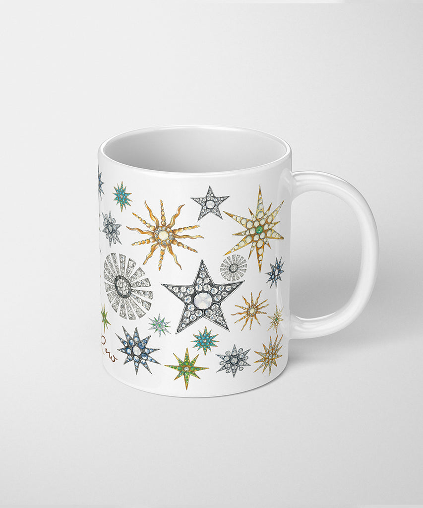 Star Brooches Coffee Mug