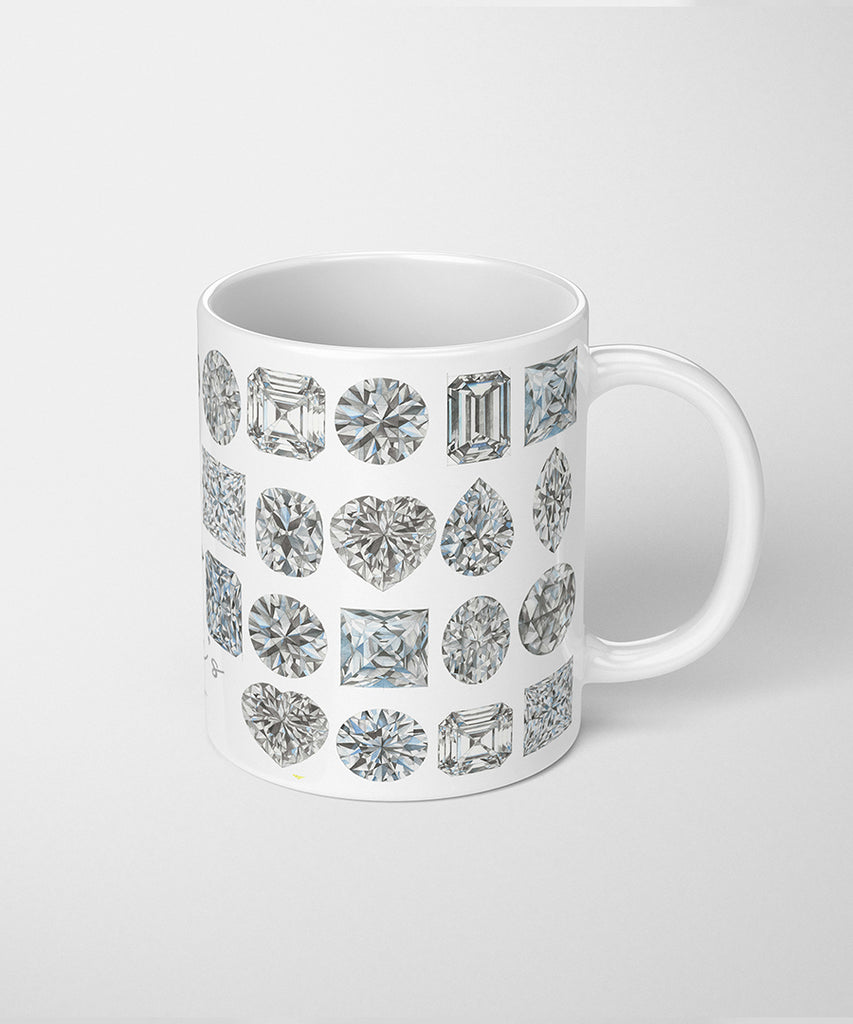 Diamond Shapes Coffee Mug
