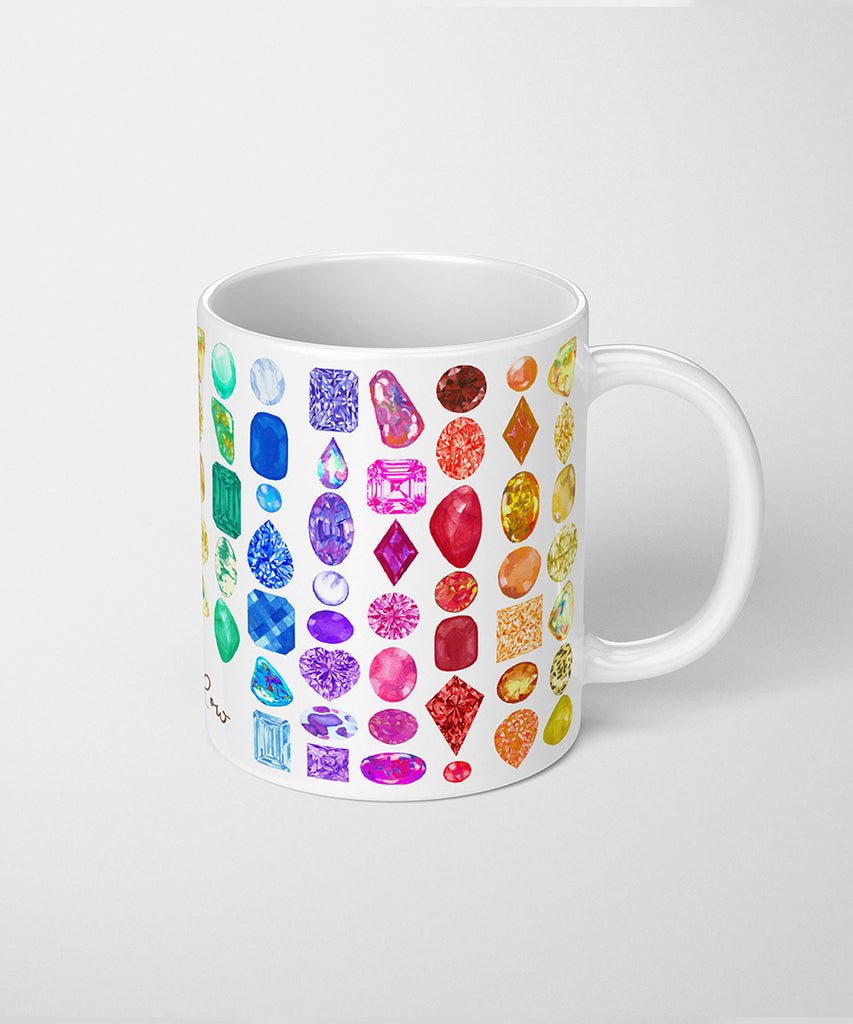 Rainbow Gemstone Series I Coffee Mug