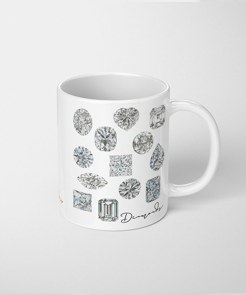 Diamond Shapes Series II Coffee Mug