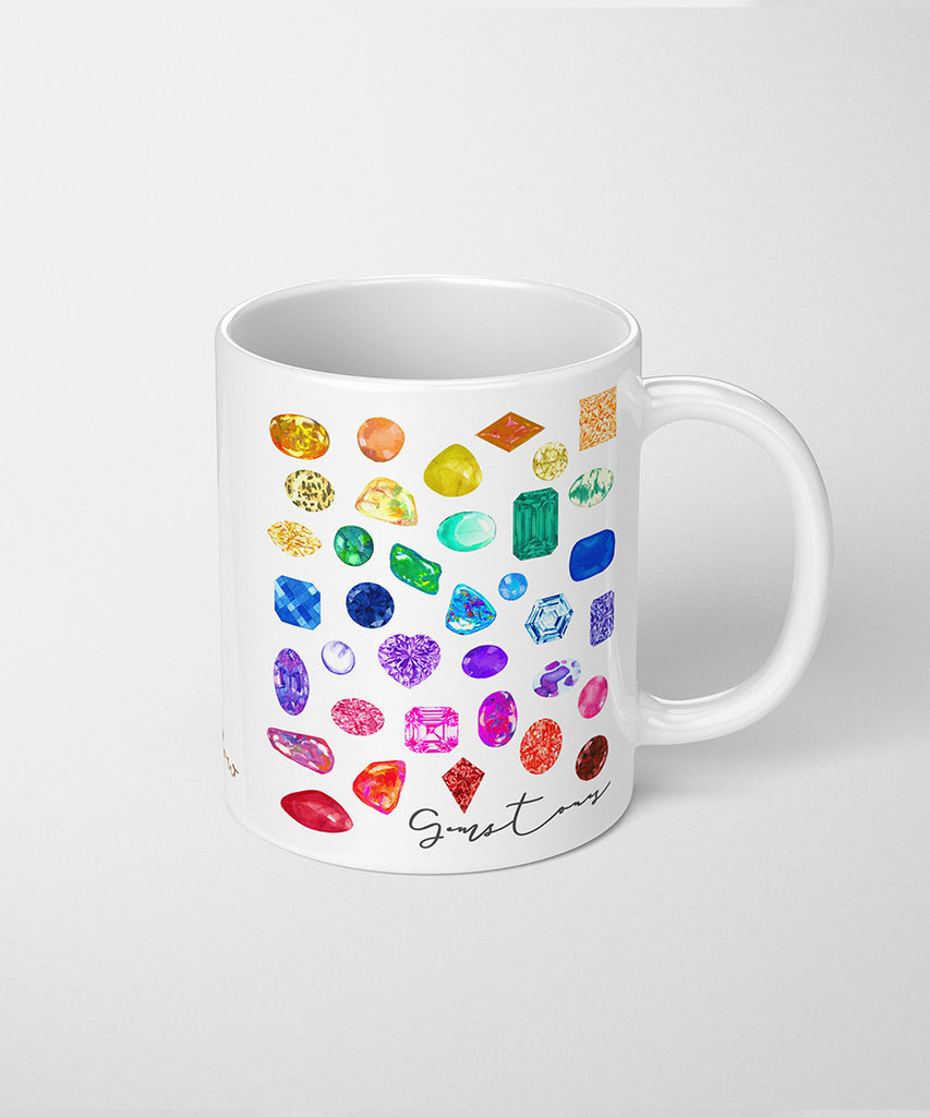 Rainbow Gemstone Series IV Coffee Mug