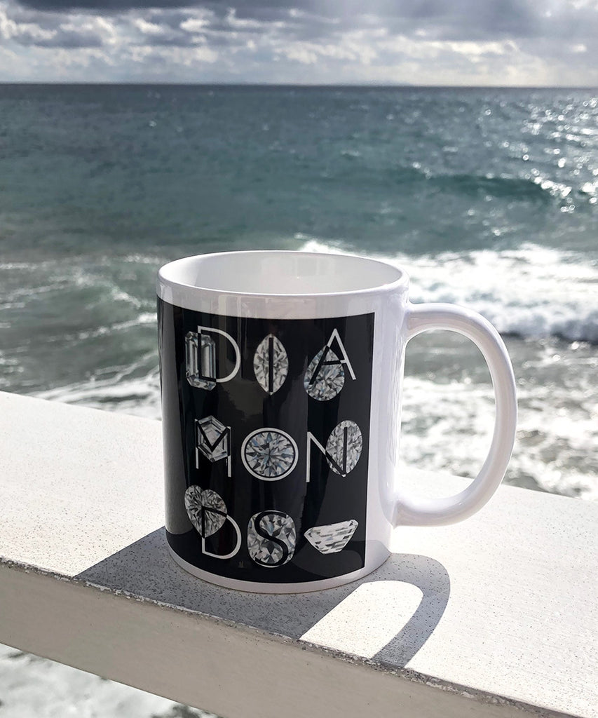 Diamond Coffee Mug