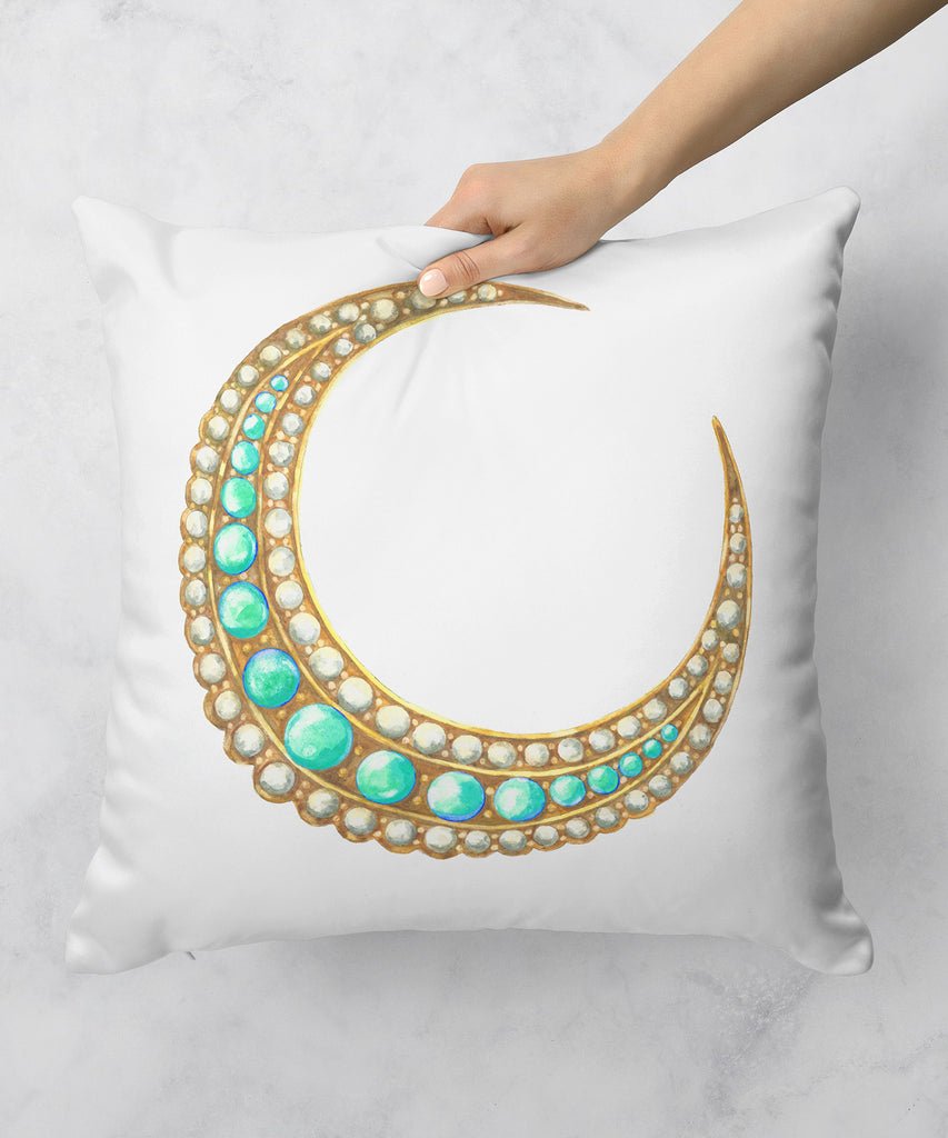 Crescent Moon Pillow