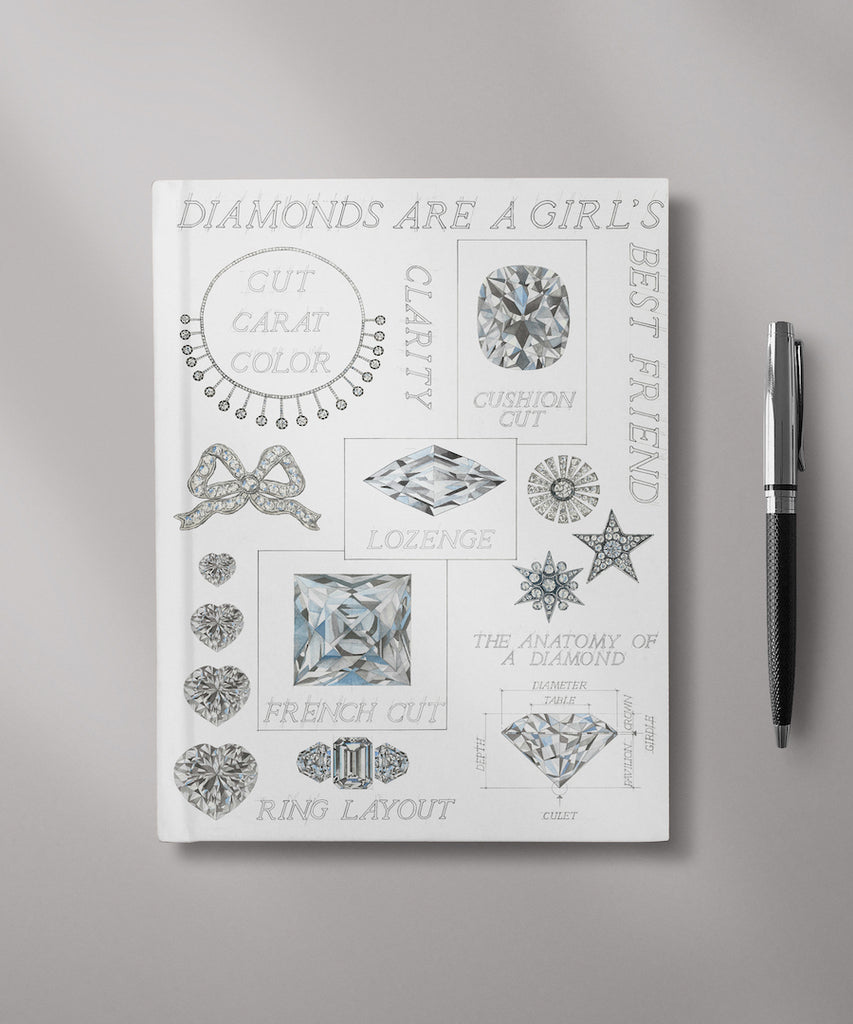 Diamonds are a Girl's Best Friend Journal