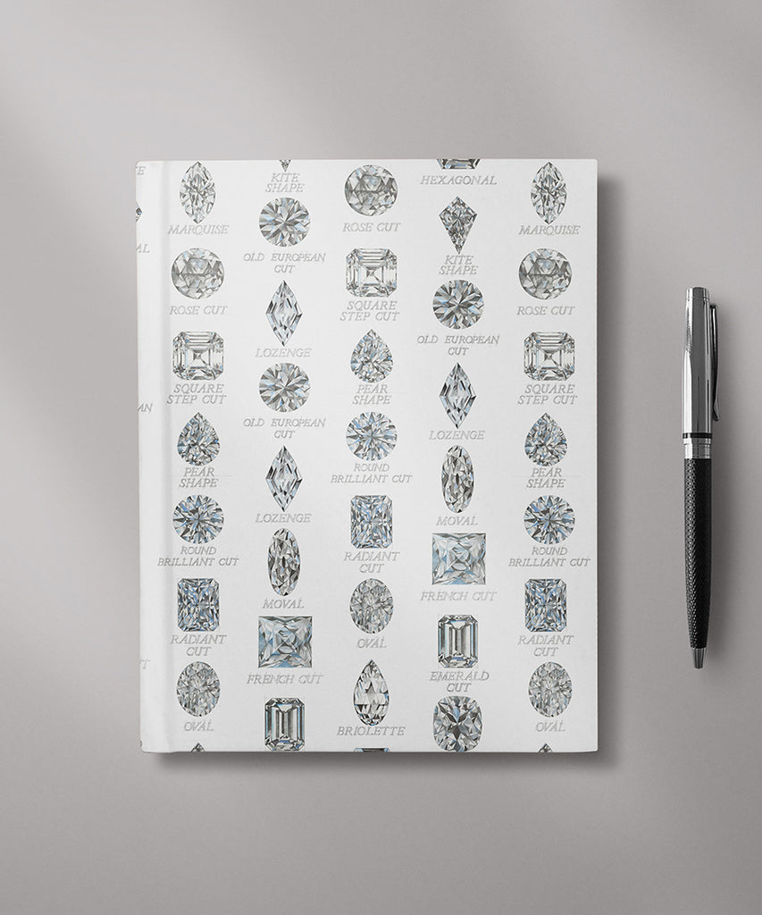 Diamond Shapes with Names Journal