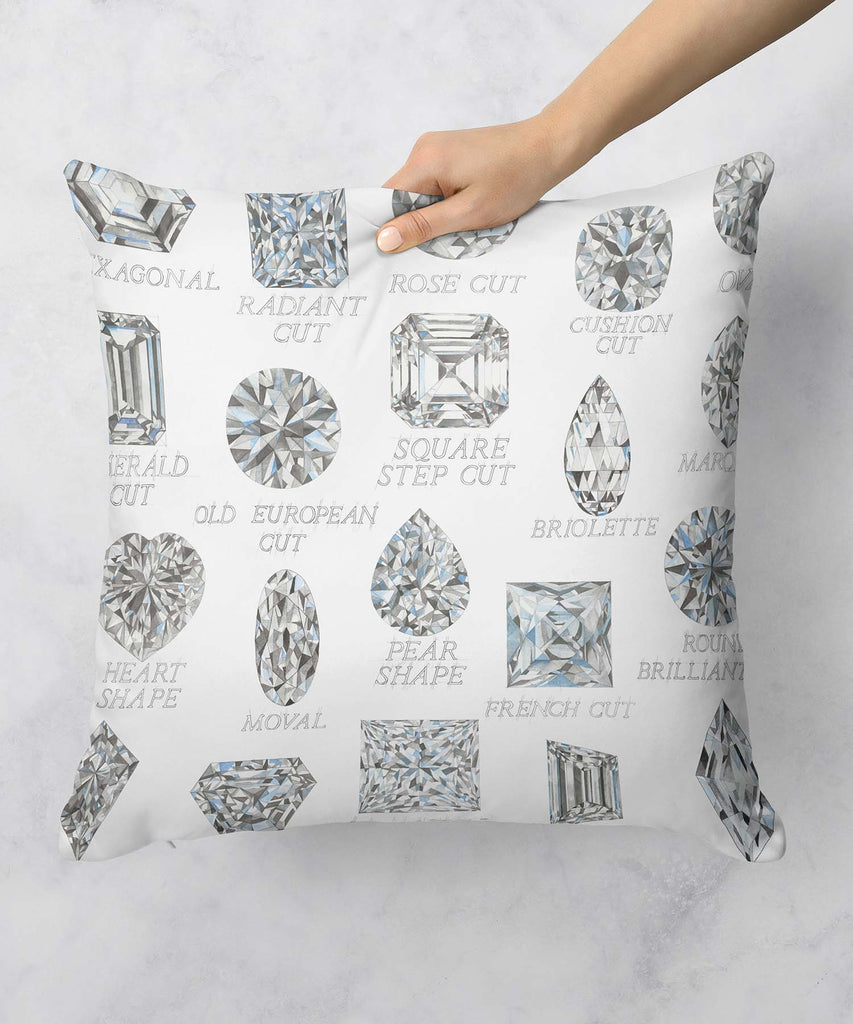 Diamond Shapes Pillow