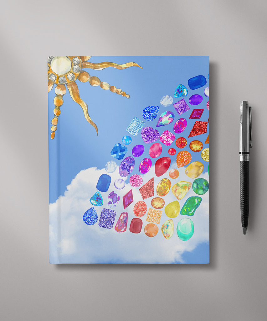 Gemstone Rainbow Sky Journal