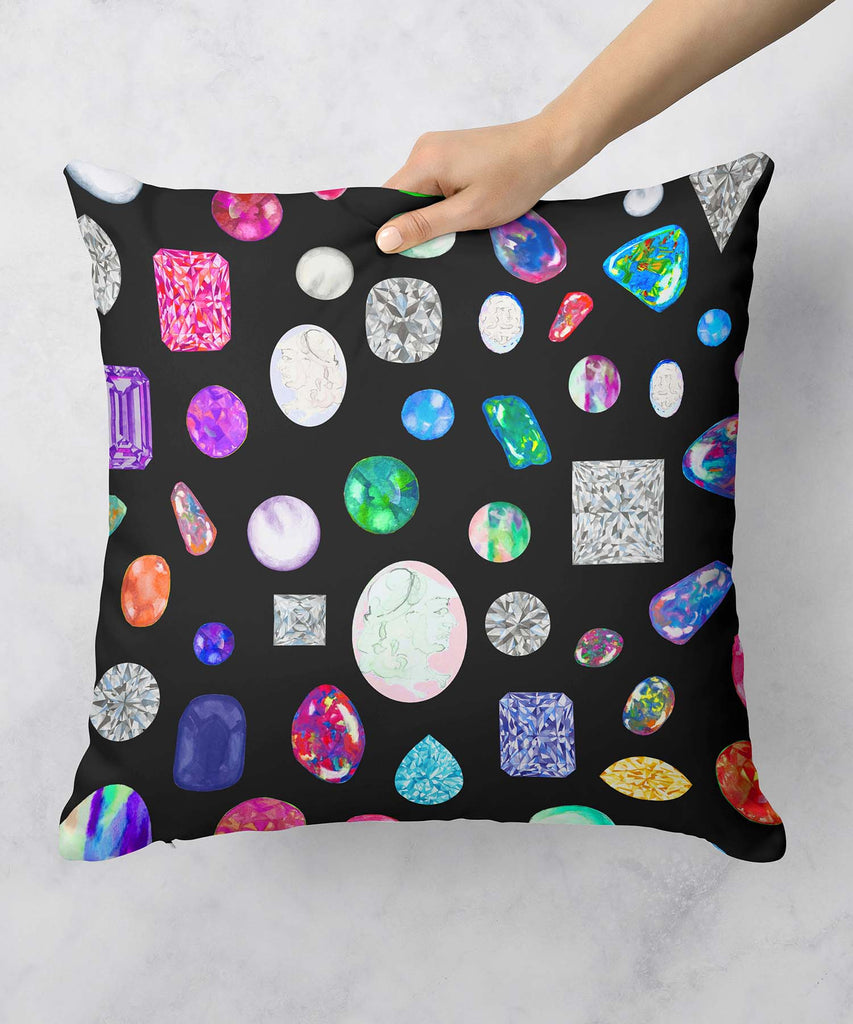 Gemstone Pillow