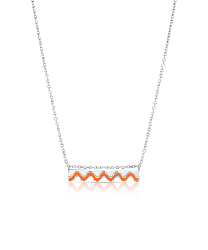 Ric Rac Bar Necklace