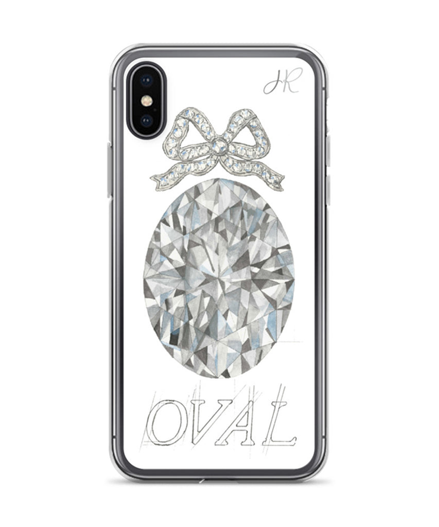 Oval Diamond Phone Case