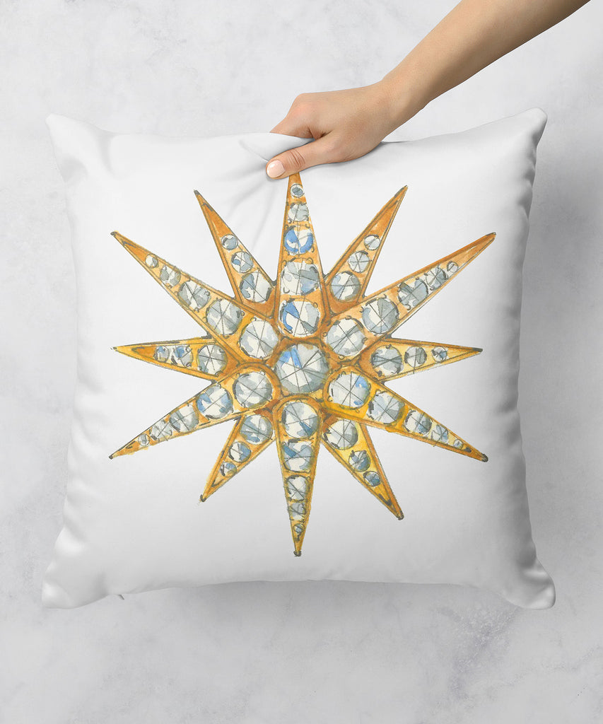 Star Brooch Series X Pillow