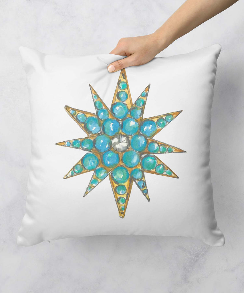 Star Brooch Series VI Pillow