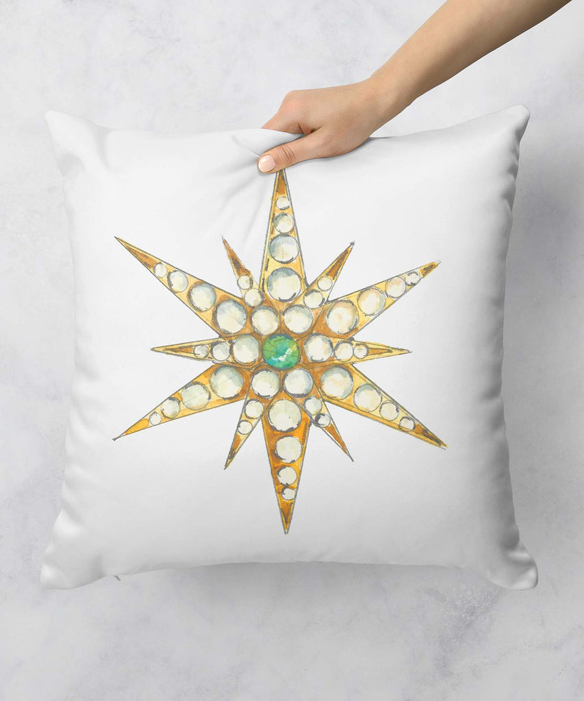 Star Brooch Series VII Pillow