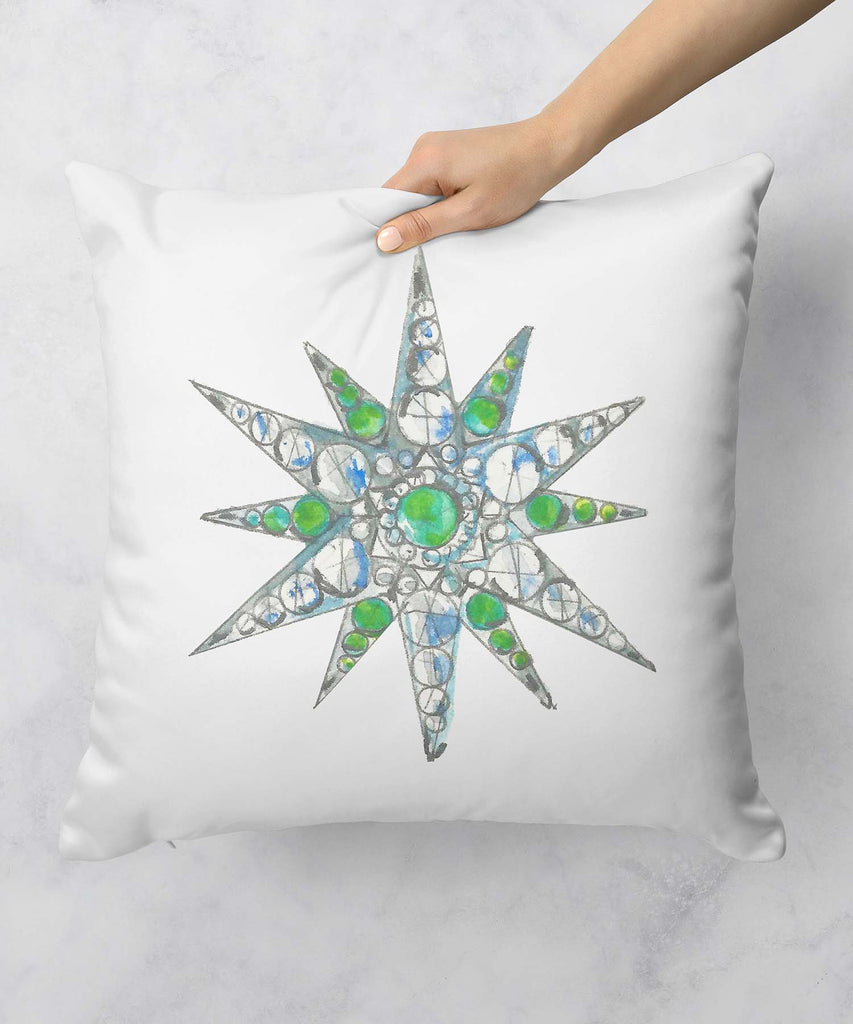 Star Brooch Series VIII Pillow