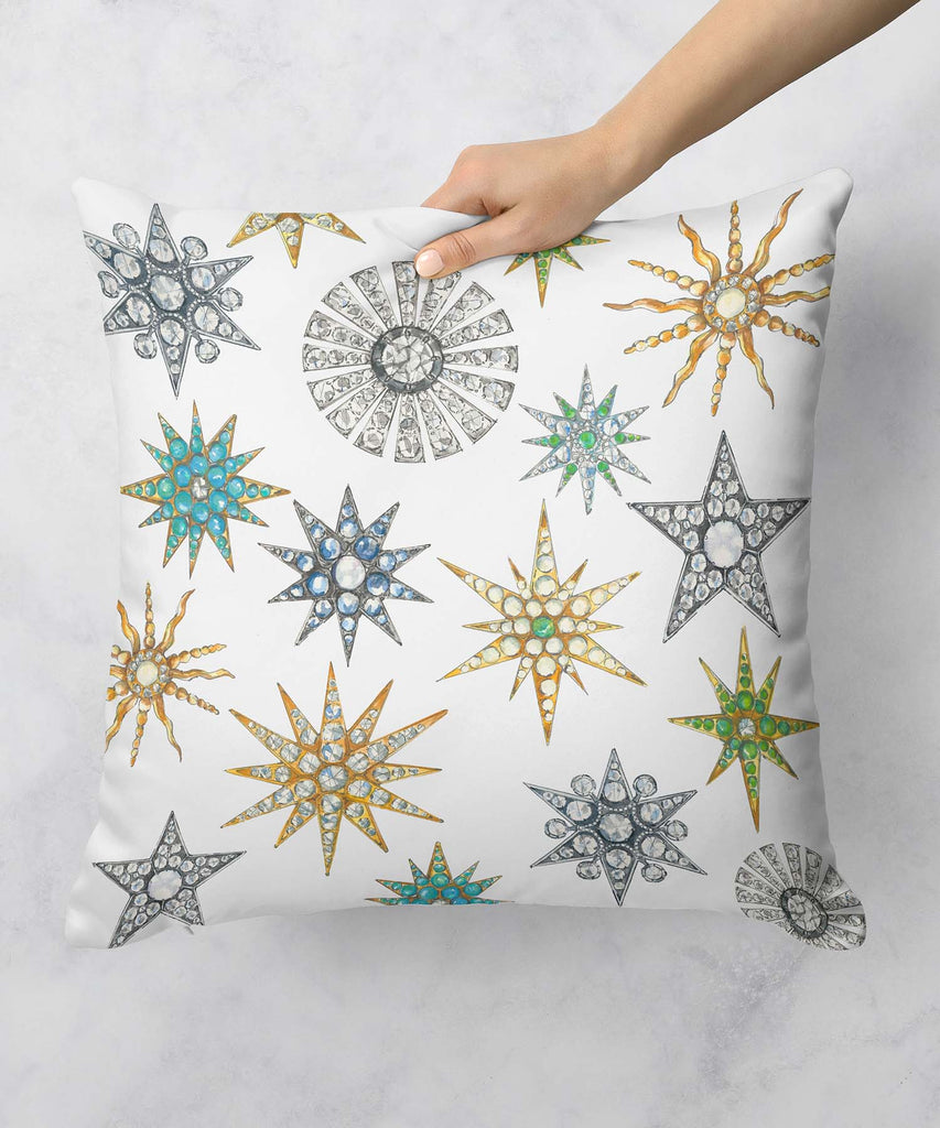 Star Brooches Pillow