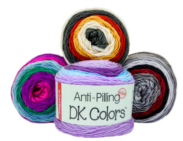 Premier Anti-Pilling DK Colours Self-Striping Yarn ( 7 Colours Available)