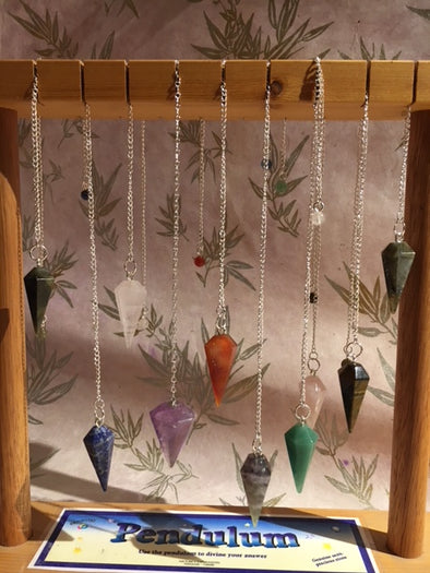 Gemstone Pendulum with Feng Shui Magic for Clarity and Vision