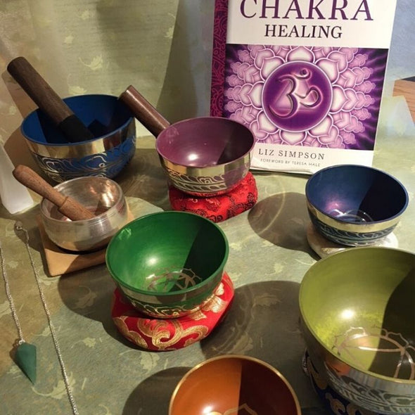 Tibetan Singing Bowl for Space/stress Clearing & Meditation