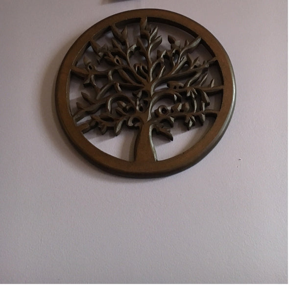 Zen Collection Wall Plaque Tree of Life