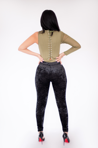 Kaylee One Shoulder Corset Bodysuit