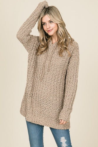 Women's taupe tunic from Tulip Lane Boutique