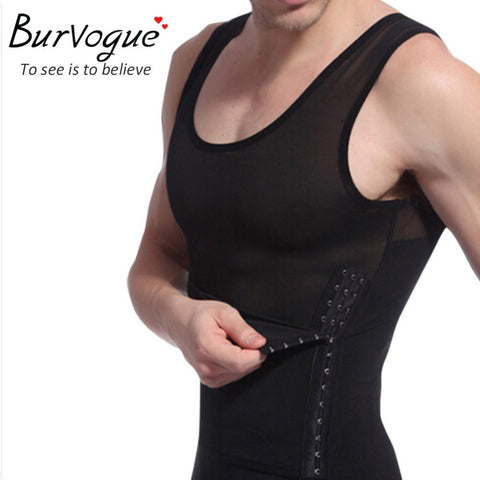 3 Sizes White and Black Side Hook Closure Vest Spandex Slimming Cincher
